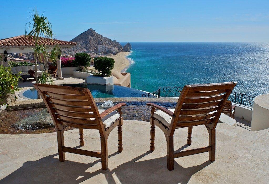 Villa La Roca Pedregal 7 bedroom luxury rental villa cabo san lucas mexico