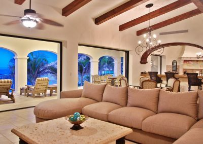 casa del mar palmilla los cabos luxury oceanfront rental villa lounge room