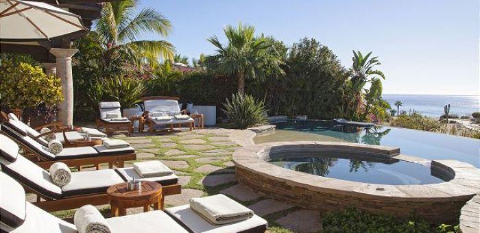 Casa Sahuaro en Cabo del Sol Luxury Rental Villas in Cabo San Lucas jacuzzi view