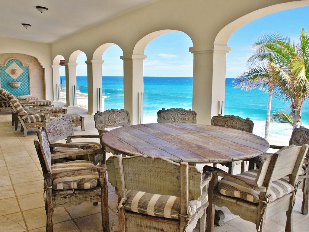 casa del mar palmilla los cabos luxury oceanfront rental villa terrace