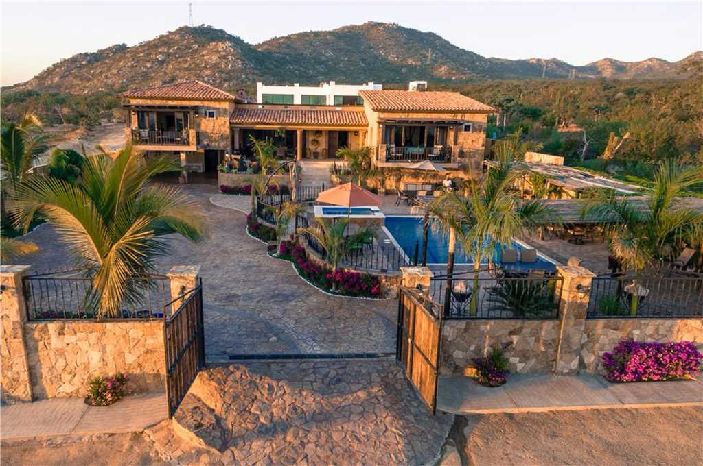 villa finca tezal offers a perfect cabo escape with plenty of room for events up to 200 guests.