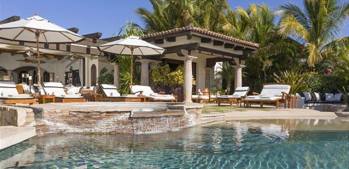 Casa Sahuaro en Cabo del Sol Luxury Rental Villas in Cabo San Lucas jacuzzi and pool