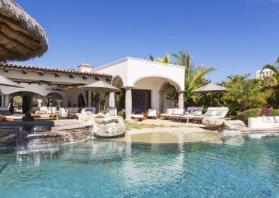 villa damiana los cabos luxury vacation rentals cabo san lucas pool and jacuzzi view