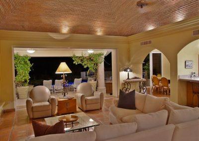 Lounge Casa Stamm in Cabo del Sol, Cabo San Lucas Luxury Villa Rentals